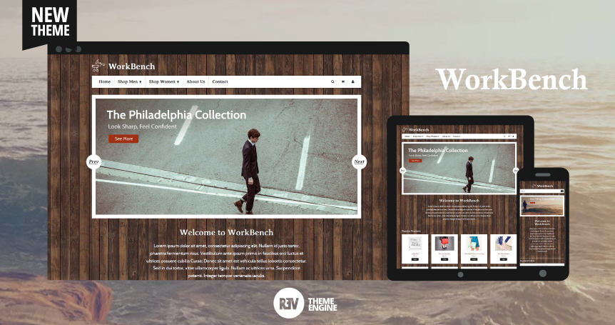 Demo Workbench Theme - Responsive Ecommerce Theme Using Boostrap and Base Theme