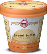 Puppy Cake Peanut Butter Ice Cream