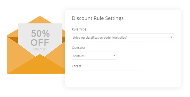 Discount Rule Admin Example