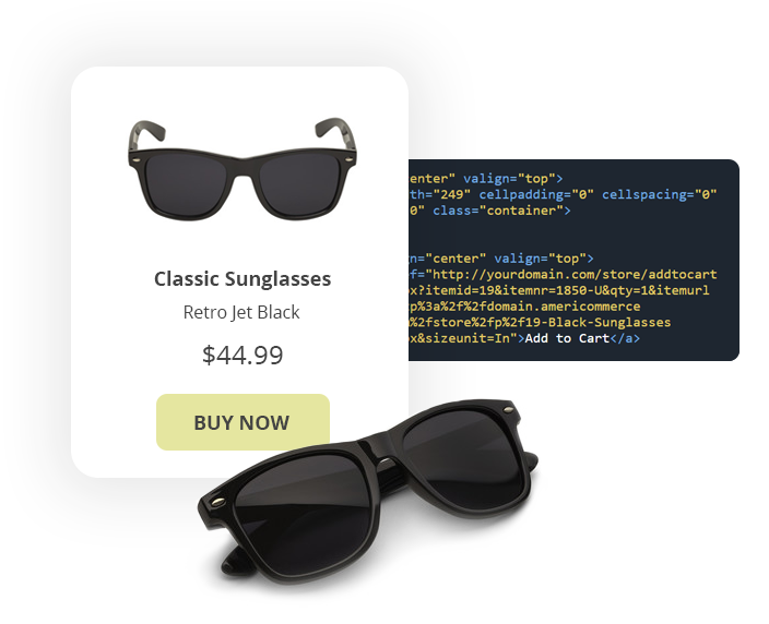 Category Product Layout Example Of Sunglasses